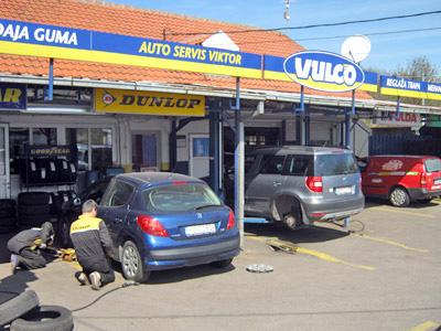 Vulkanizer Viktor, vulkanizeri Beograd, zamena paknova