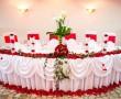Restoran Filmski Grad, restorani za svadbe i proslave Beograd, sto za mladence