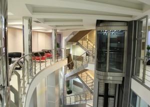 lobby hotela Zeder