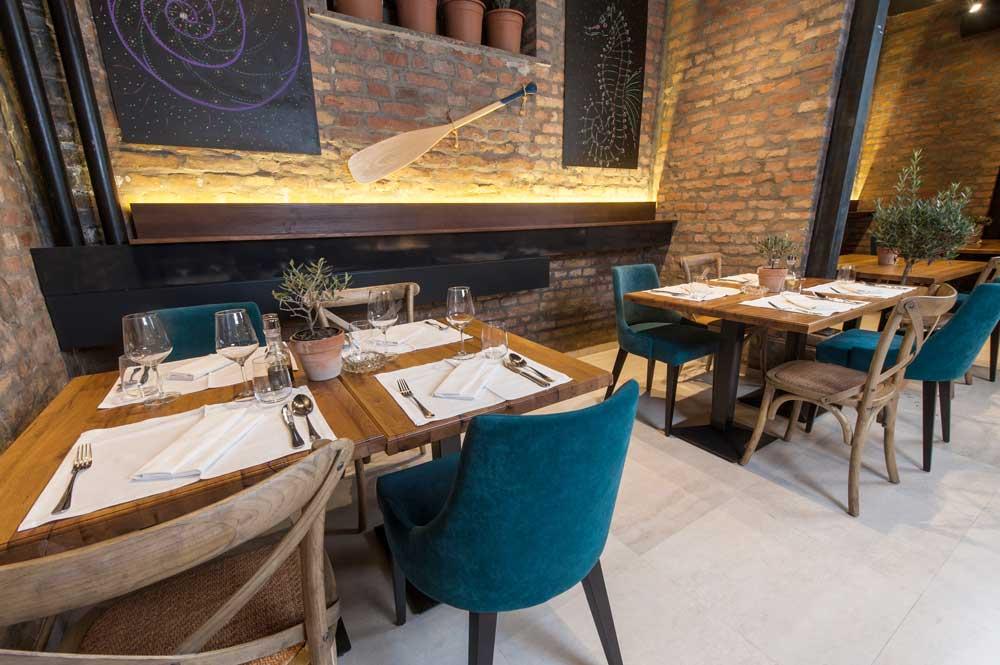 Restoran Paralada, restorani Beograd, jadranske lignje