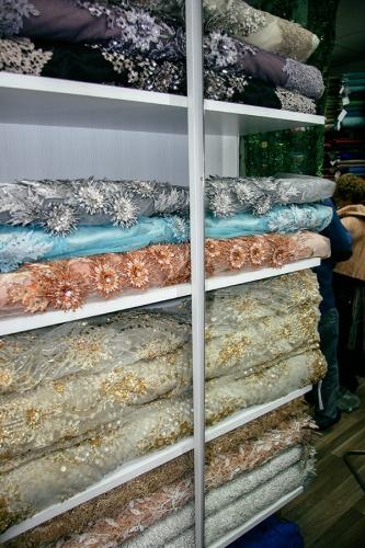Bombaj textile, trgovina tekstilom, materijali za sivenje