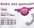 Pink taxi, auto prevoznici Beograd, brojevi telefona taxi prevoz