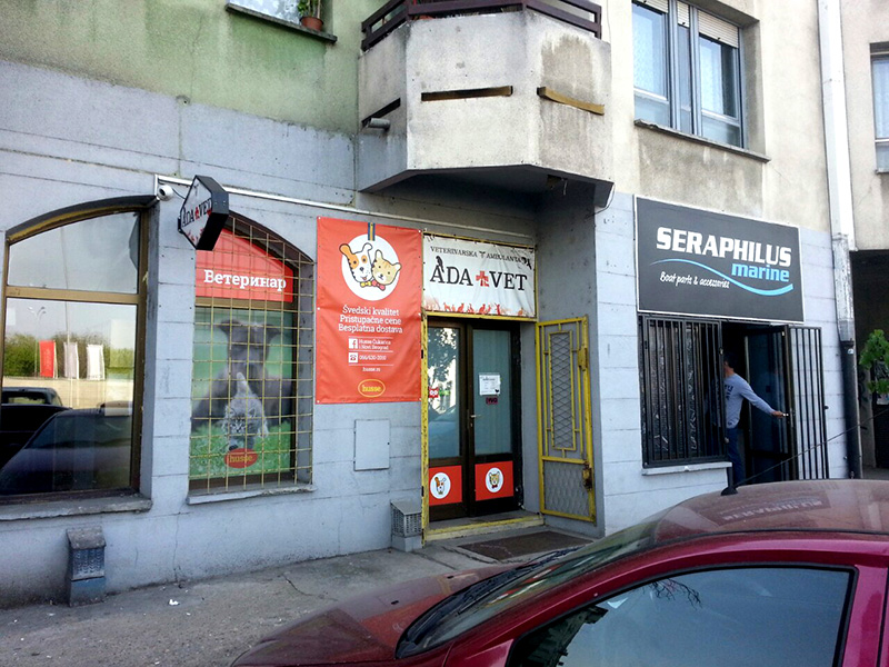 Veterinarska ambulanta Ada Vet, veterinarske ordinacije Beograd, dezurni veterinar