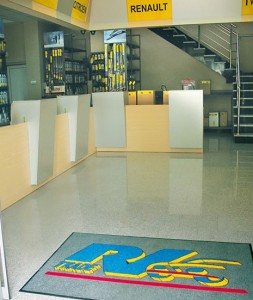 Cleanmate, iznajmljivanje i lizing predmeta za ličnu upotrebu Beograd, otiraci sa logom